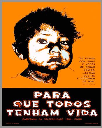 CAMPANHA DA FRATERNIDADE 1984