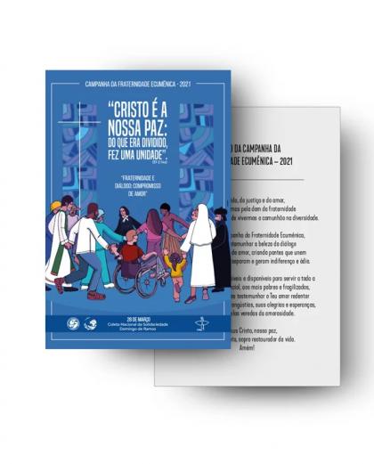 CFE 2021 - Cartão Postal com Oração